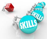 Skill vs No Skills Competition Unskilled and Skilled People