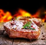 Fototapety Grilled Steak. Barbecue