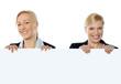 Portrait of smiling corporate women