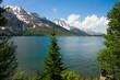 Jenny Lake in Grand Teton National Park, Wyoming.