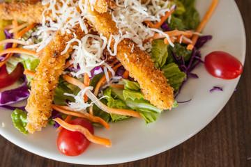 healthy seafood salad