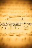 Fototapety music sheet