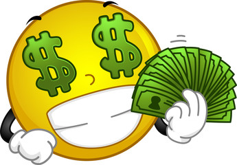Money-loving Smiley