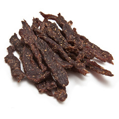 South African biltong strips