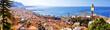 Leinwanddruck Bild - Landscape of Salerno