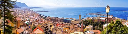 Foto op Canvas Luchtfoto Landscape of Salerno