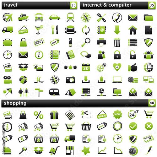 pack Icons V green