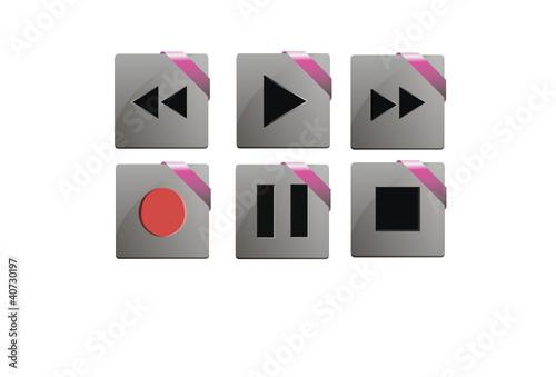 Media control keys