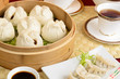 Yum Cha - Chinese tea drinking & Dim Sum. Char siu bao & jiaozi