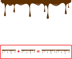 chocolate seamless drips