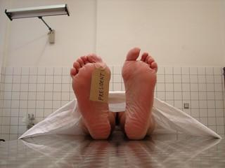 President´s death (death body in mortuary)