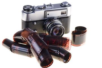 Color negative film and vintage camera