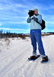 Snowshoeing Photographer
