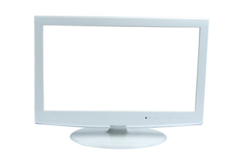 white screen isolated