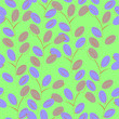Cartoon style seamless pattern
