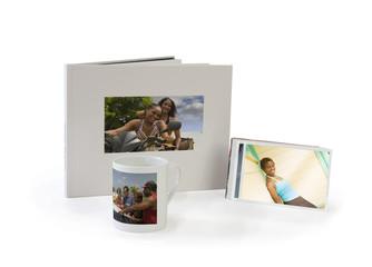 Imprimer ses photos sur les livres photo, tasse...