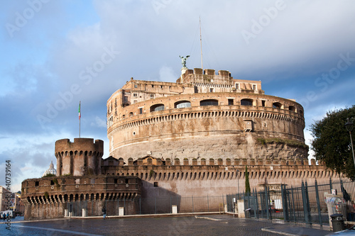 Castel Sant'angelo side
