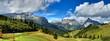 Leinwanddruck Bild - Dolomiti - Alta Badia panorama