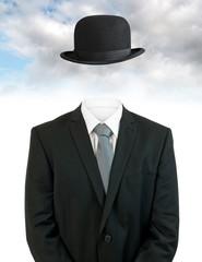 Businessman invisible