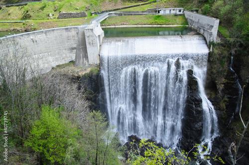 Keuken foto achterwand Dam Sbarramento di ritenuta