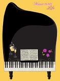 Musical Background - Whimsical Concert Piano