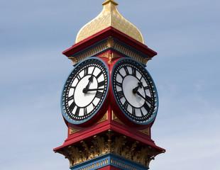 Weymouth Beach Clock