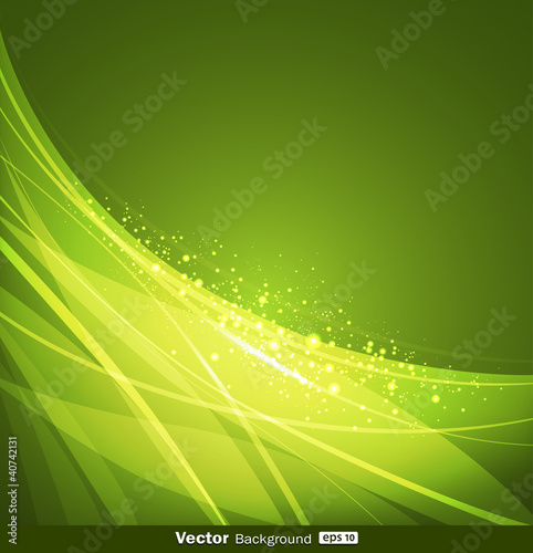 Abstract green background design. vector illustration