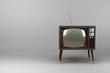 Wood Veneer Vintage TV - 40742737