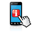 PHONE INFO FINGER