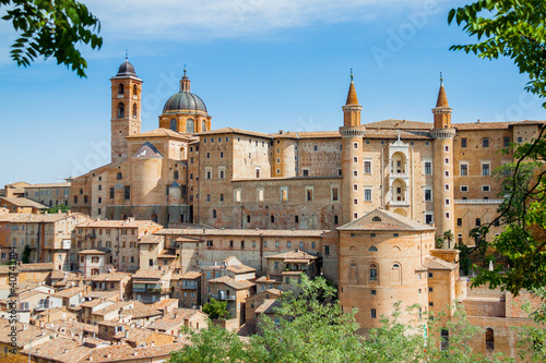 Ancient castle of the Duke of Urbino, Italy, Urbino.