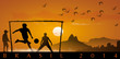 Enfants foot Brésil 2014