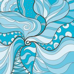 загадочный фон в бирюзовом цвете