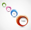 new Vector swirl set circle design