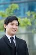 Portrait of an Asian business man.