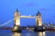 London Tower Bridge at Dusk