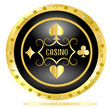 Casino brilliant button
