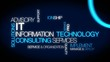 Information technology consulting IT computer tag cloud video