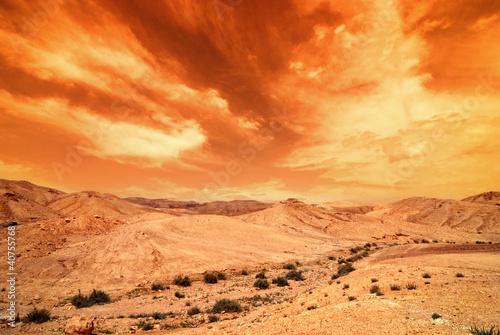 judean desert - 40755768