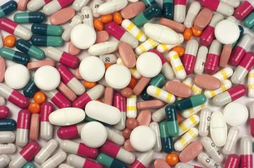 Medicinas, capsulas, pastillas