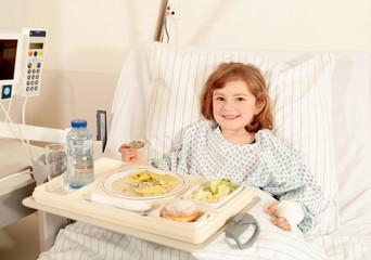Essen im Krankenhaus ist lecker