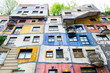 The Hundertwasser House in Vienna