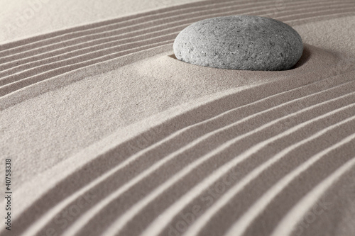 zen meditation garden © kikkerdirk