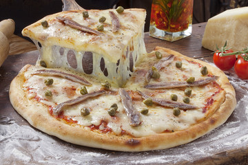 Pizza Anchovis