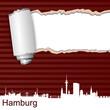 Karte Riss Hamburg