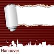 Karte Riss Hannover