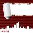 Karte Riss Leipzig