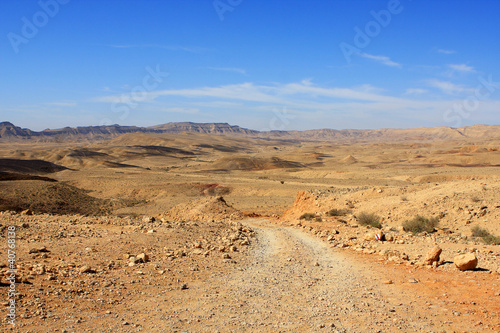 Big crater, Negev desert