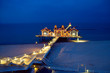 A pier on Rugia island