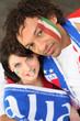 couple of italian supporters