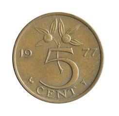 5 cent of Nederlanden.